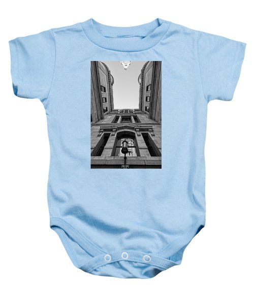 The Hall Baby Onesie