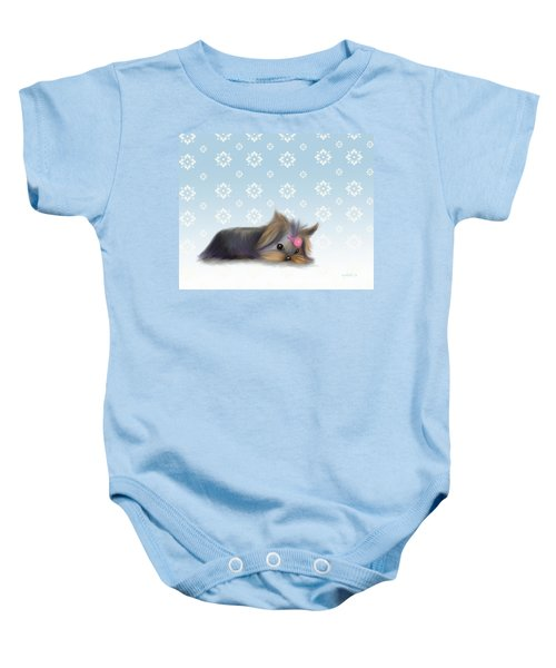 The Little Thinker  Baby Onesie