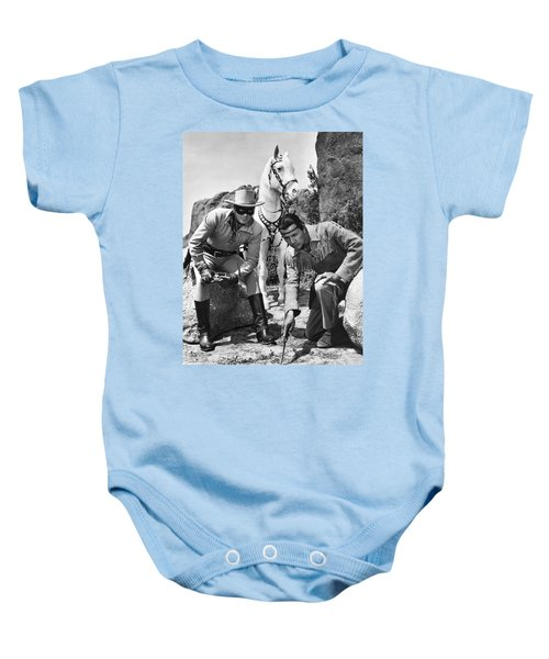 The Lone Ranger And Tonto Baby Onesie