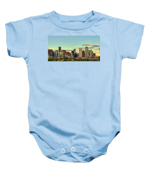 The Mile High City Baby Onesie