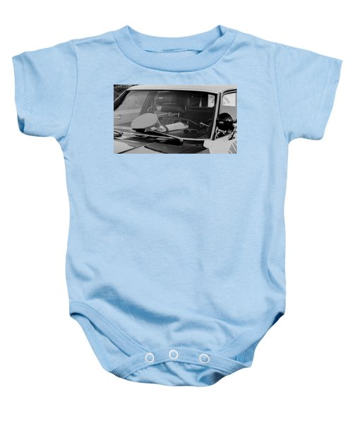 The Office On Wheels Baby Onesie