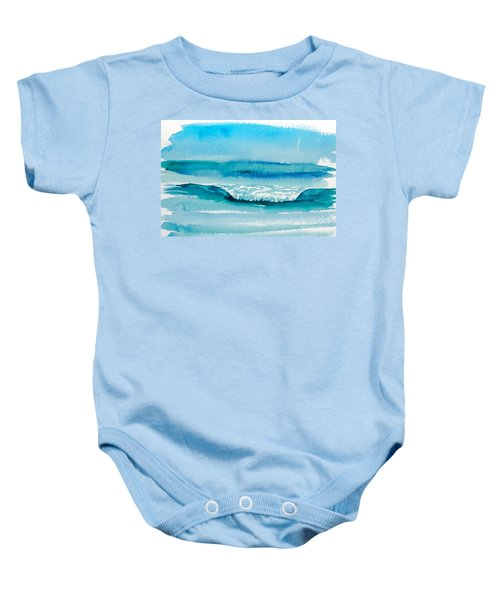 The Perfect Wave Baby Onesie