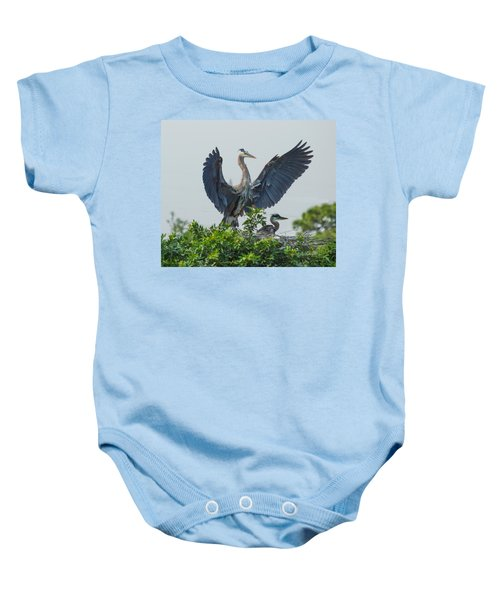 The Protector Baby Onesie