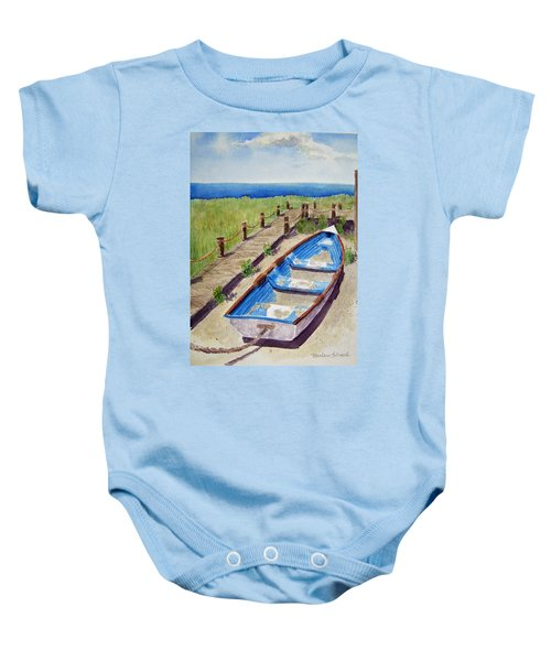The Sandy Boat Baby Onesie