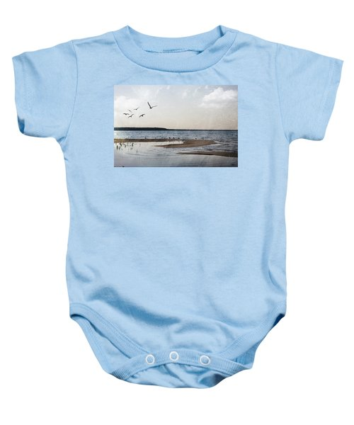 The Shallows At Whitefish Bay Baby Onesie