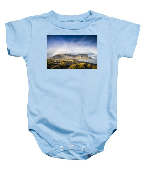 The Young Man Agreed Baby Onesie