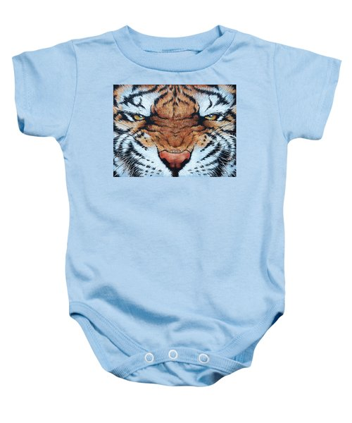 Tiger Eyes Baby Onesie