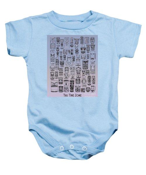 Tiki Cool Zone Baby Onesie