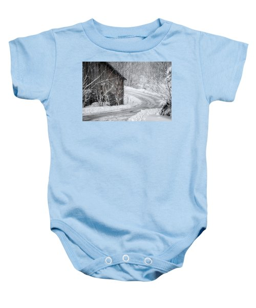 Touched By Snow Baby Onesie