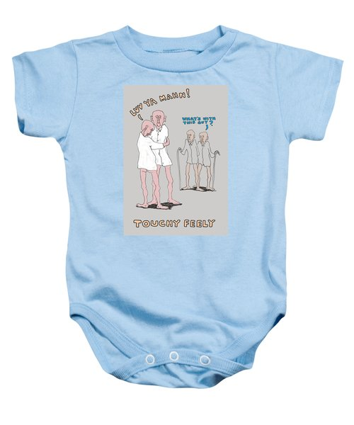 Touchy Feely Baby Onesie
