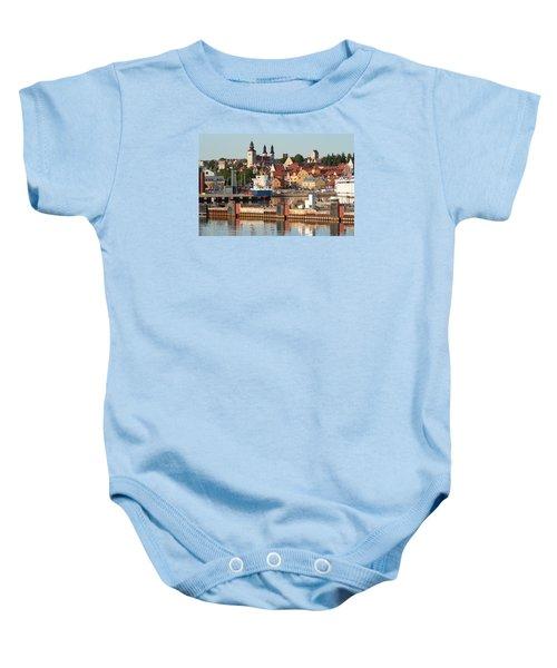 Town Harbour Baby Onesie