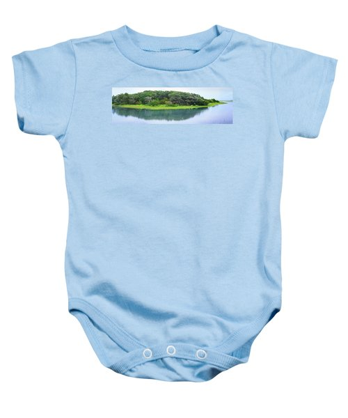 Trees At Rachel Carson Coastal Nature Baby Onesie