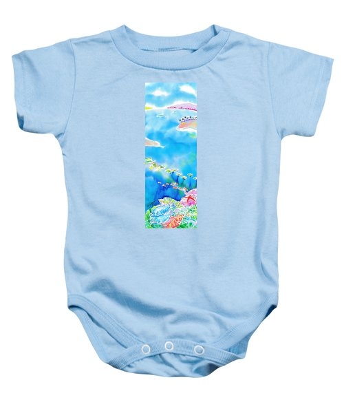 Tropical Fishes Baby Onesie