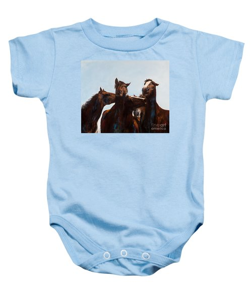 Trouble Makers Baby Onesie