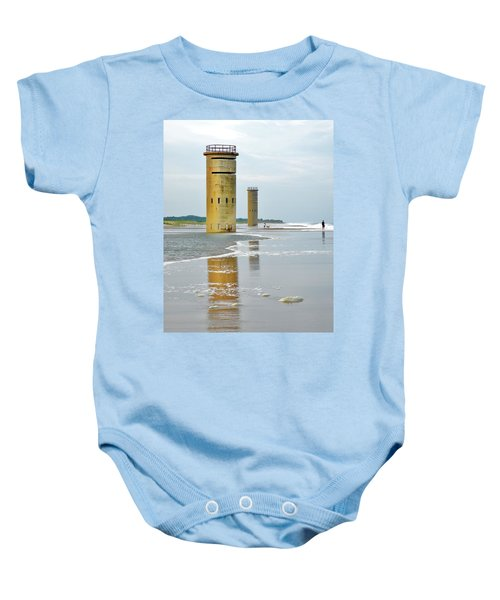Twin Towers At Whiskey Beach Baby Onesie