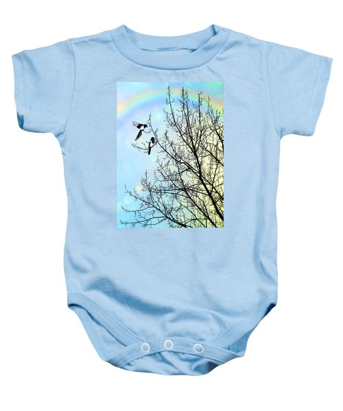 Two For Joy Baby Onesie
