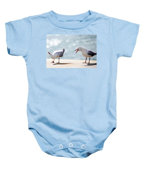 Two Seagulls Baby Onesie
