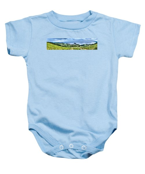 Vineyards By The Sea Baby Onesie