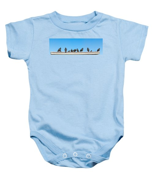 Vultures On Anhinga Trail, Everglades Baby Onesie