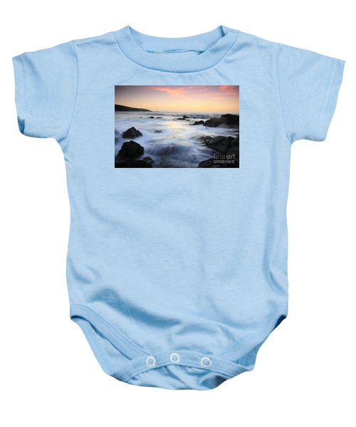 Water And The Sunset Baby Onesie