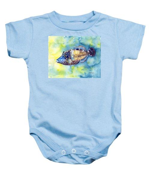 Whitespot Filefish Baby Onesie
