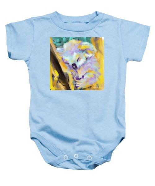 Wildlife Cuddle Koala Baby Onesie