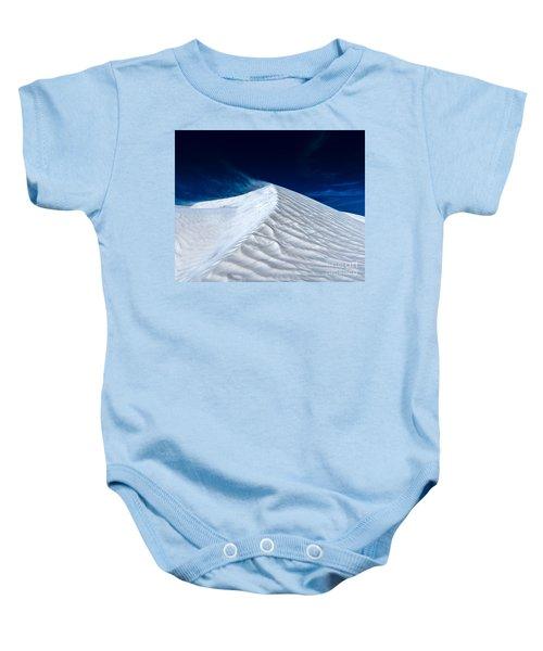 Wind Over White Sands Baby Onesie