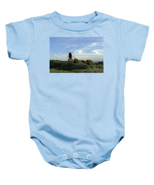 Windmill On Brill Common Baby Onesie