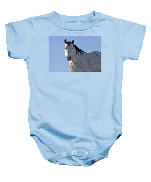 Winter Pony Baby Onesie