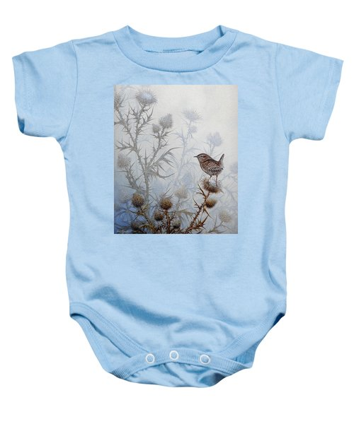 Winter Wren Baby Onesie