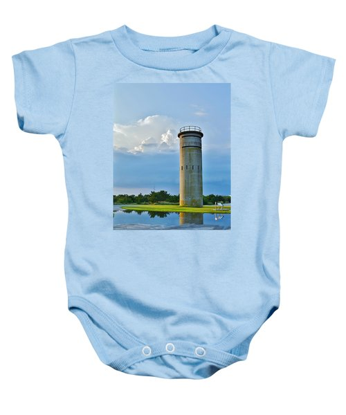 World War II Lookout Tower - Tower Road - Delaware State Park Baby Onesie