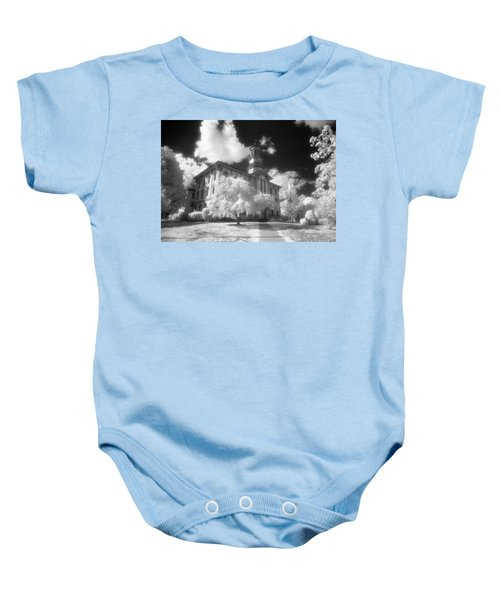 Wyoming County Courthouse Baby Onesie