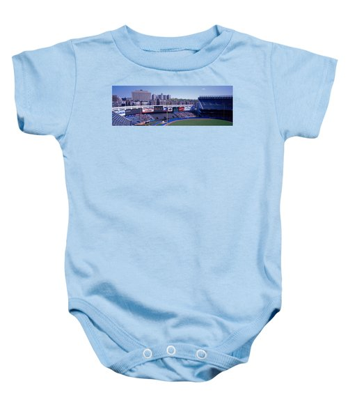 Yankee Stadium Ny Usa Baby Onesie by Panoramic Images