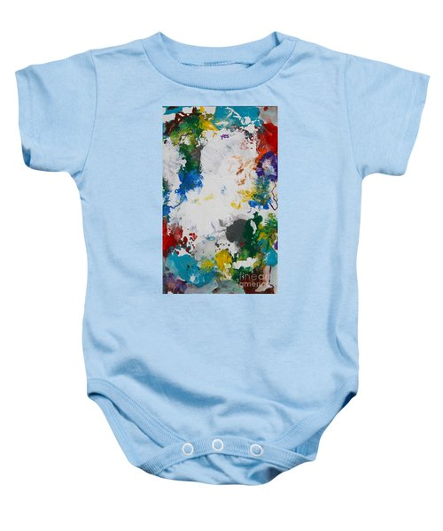 Yes Abstract Baby Onesie