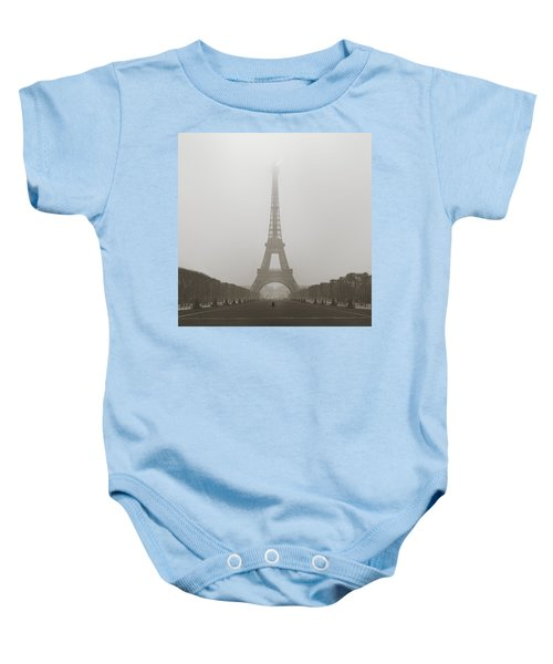 Foggy Morning In Paris Baby Onesie