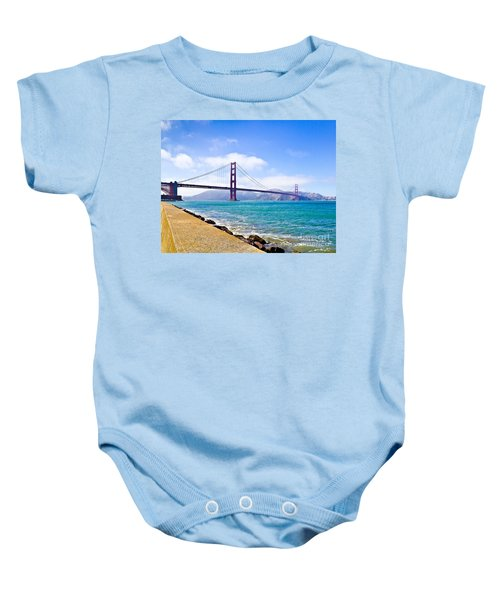 75 Years - Golden Gate - San Francisco Baby Onesie