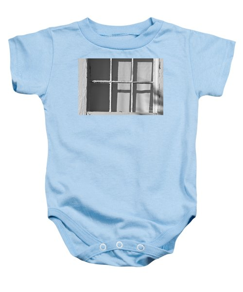 Abstract Window In Light And Shadow Baby Onesie