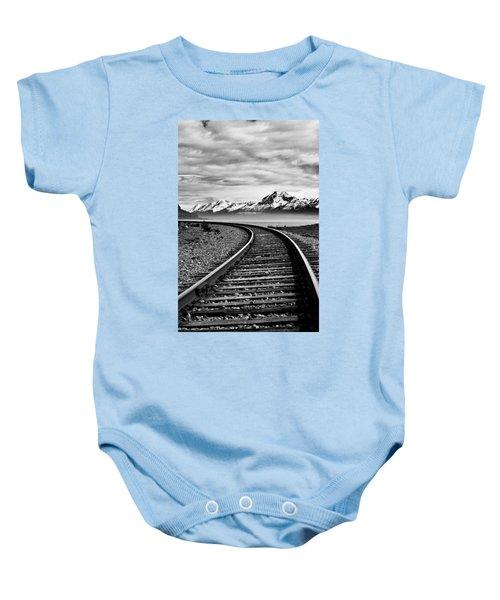 Alaska Railroad Baby Onesie