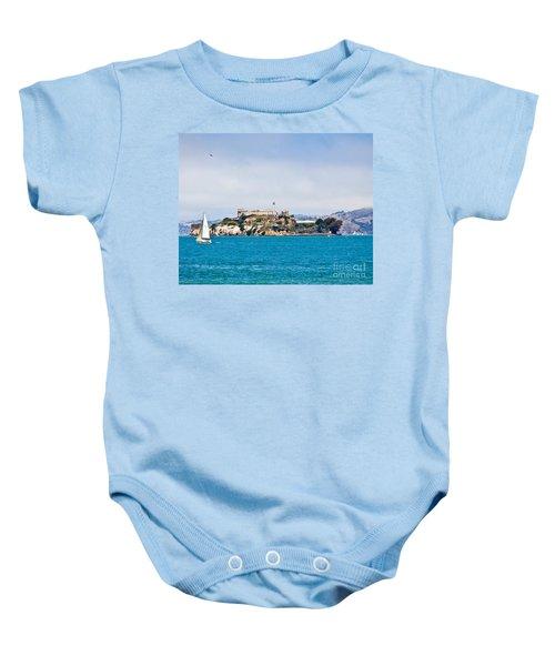 Alcatraz - San Francisco Baby Onesie