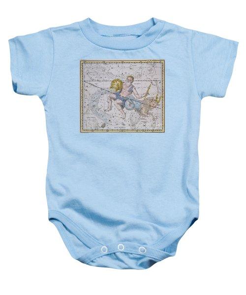 Aquarius And Capricorn Baby Onesie