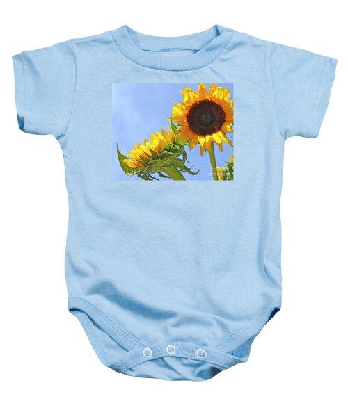 August Sunshine Baby Onesie