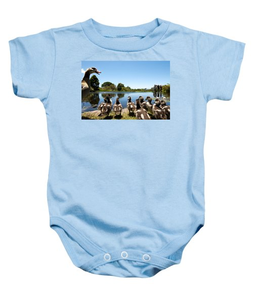 Egyptian Geese Baby Onesie