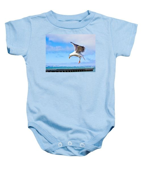 Final Approach - San Francisco Baby Onesie