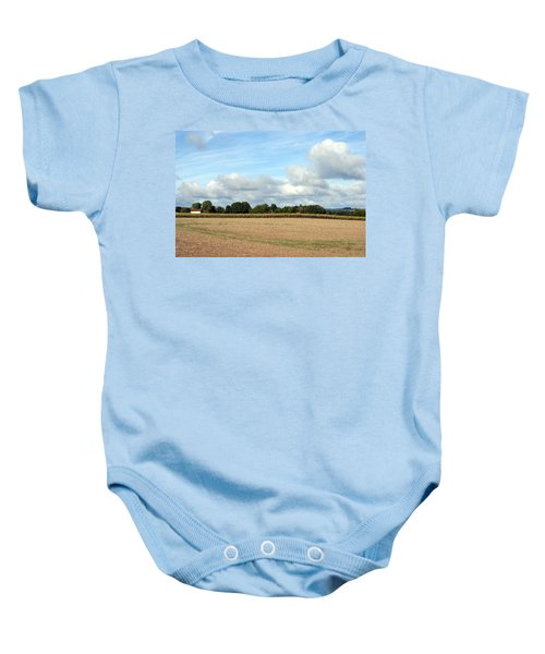 French Countryside Baby Onesie