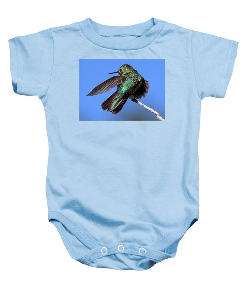 He Went That Way Baby Onesie