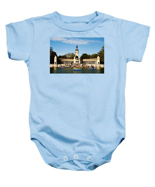 Monument To Alfonso Xii Baby Onesie
