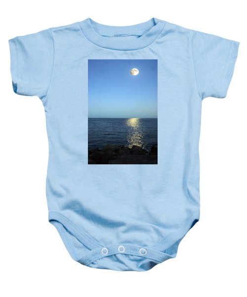 Moon And Water Baby Onesie