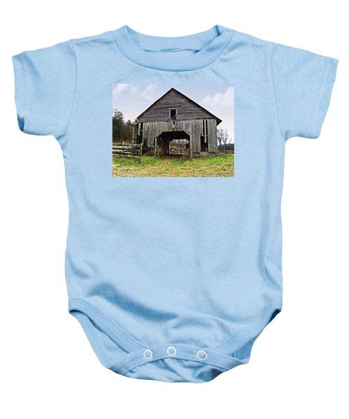 Old Barn Baby Onesie