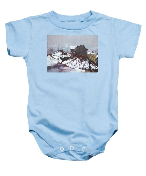 Snow In Elbasan Baby Onesie