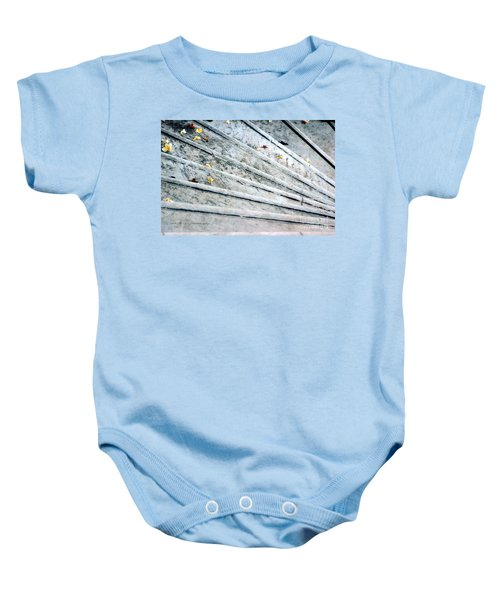 The Marble Steps Of Life Baby Onesie